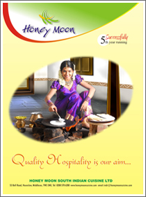 Honeymoon South Indian Cuisine Ltd(UK)